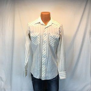 Wrangler Long Tails Pearl Snap Button Shirt